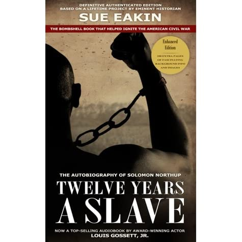 book review 12 years a slave Music reviews books books reviews  i am also curious to know whether he valued his freedom more after being someone else's property for 12 years  book review: twelve years a slave share .