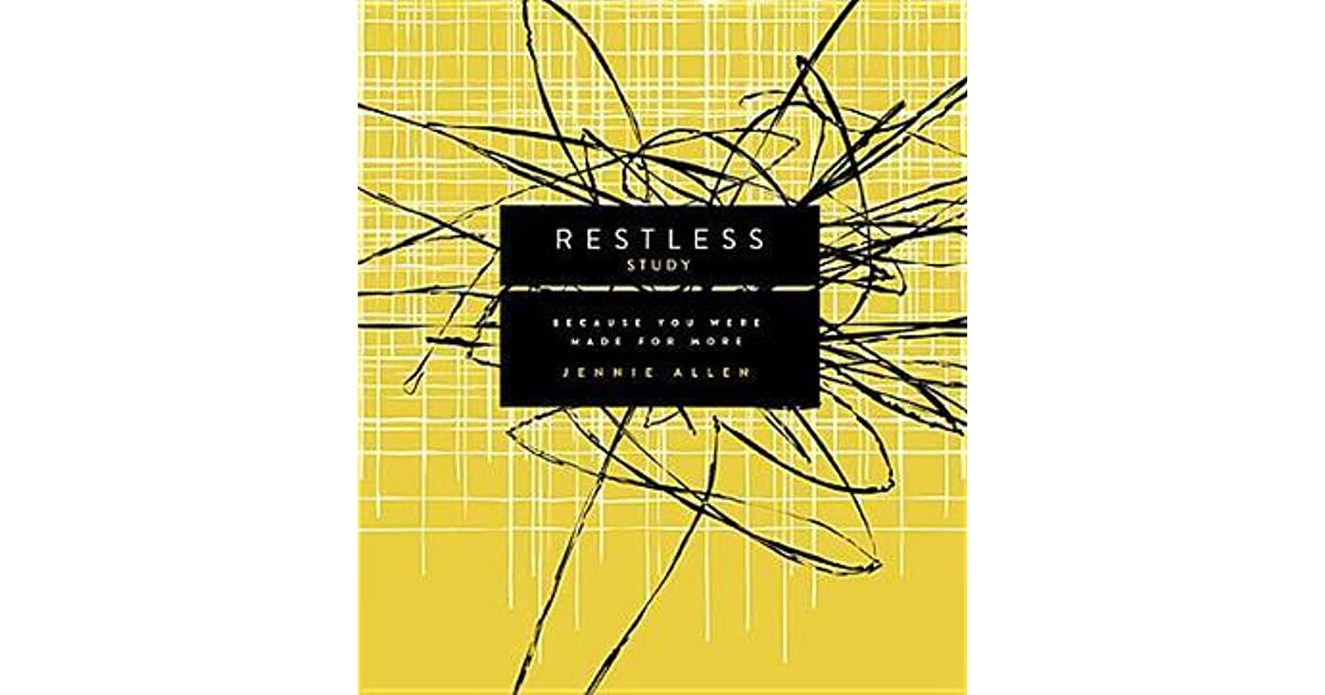 Restless Study Week 1 — What's Holding You Back From ...