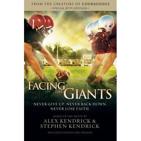 facing the giants review Plot summary nothing ever seems to work out for grant taylor, high school coach of the shiloh eagles football team his team is the laughingstock of the conference, his job is perpetually on the hot seat, his income is sub-par, and he and his wife cannot seem to have any children.