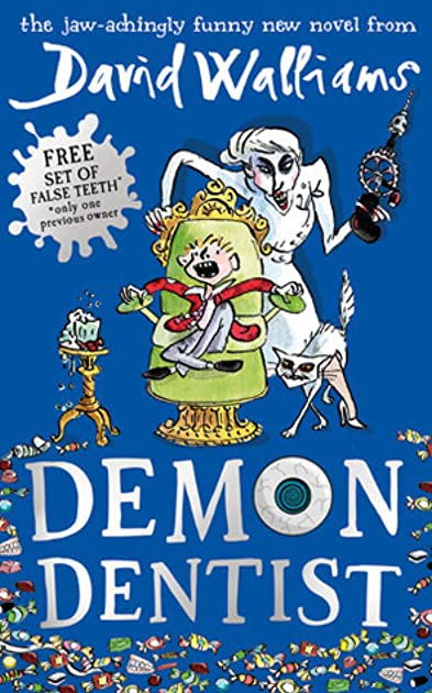 demon dentist by david walliams reviews  discussion Watrecolor Open Book Graphic open book graphic png