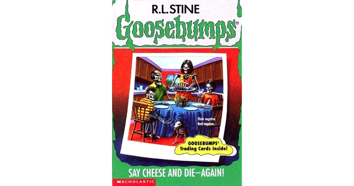 book report on goosebumps-say cheese and die