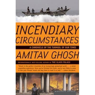 amitav ghosh essays Amitav ghosh's essays have been published in the new yorker, the new republic and the new york times his essays have been published by penguin india (the imam and the indian) and houghton mifflin usa (incendiary circumstances.