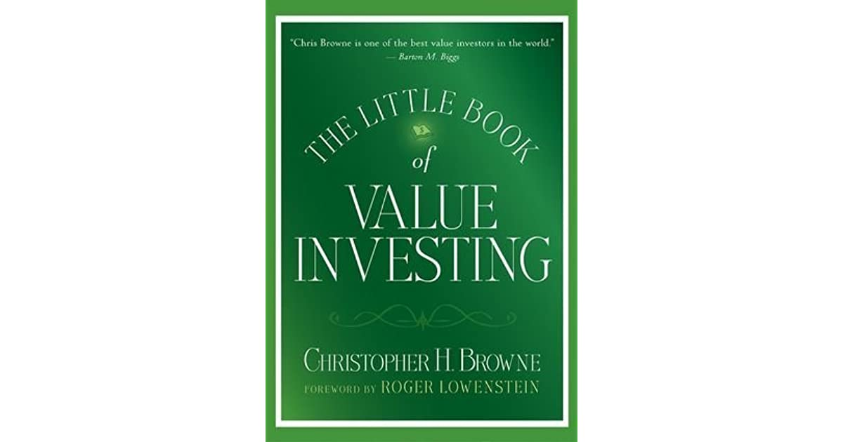 the little book of value investing by christopher browne pdf