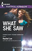 What She Saw (Conard County: The Next Generation)