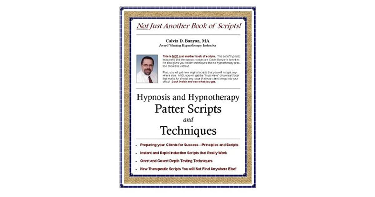 writing a self hynosis script Read these 9 sample hypnosis scripts tips tips to make your life smarter here's the sample self-hypnosis script for weight podcasts and writing services.