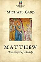 Matthew: The Gospel of Identity (The Biblical Imagination Series)