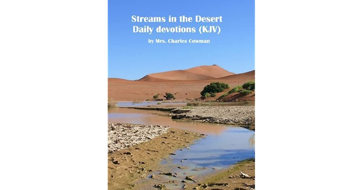 Streams In The Desert By Mrs. Charles E. Cowman