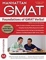 Foundations of GMAT Verbal, 5th Edition