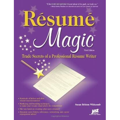 review of resume magic trade secrets of a professional resume writer
