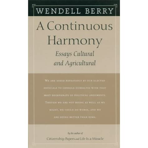 wendell berry essays an entrance to the woods