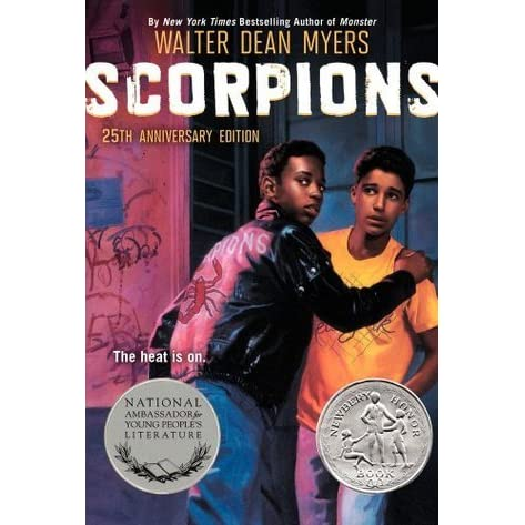 scorpions by walter dean myers essay Scorpions by walter dean myers chapter 1 (pp 3-7) 1 briefly summarize what you know about jamal, sassy, mama, and randy 2 based on the information in the story.