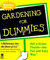 Gardening For Dummies (Miniature Editions)