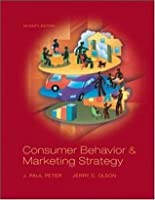 Consumer Behavior: And Marketing Strategy
