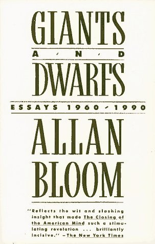 allan bloom interpretive essay (translated with notes and an interpretive essay) new york: basic books  allan bloom's closing of the american mind publishers weekly  essays in memory of .