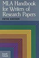 Handbook for writers of research papers