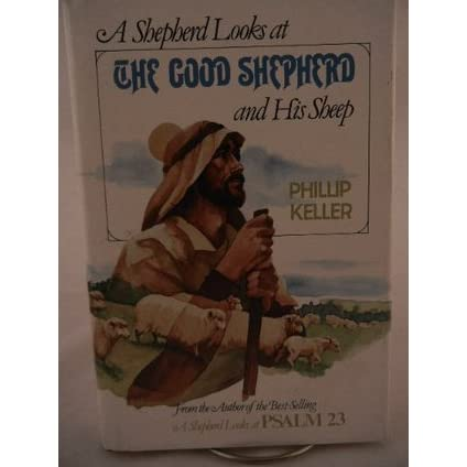 a shepherd looks at the good shepherd and his sheep by w