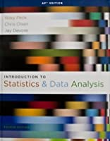 Introduction to Statistics and Data Analysis