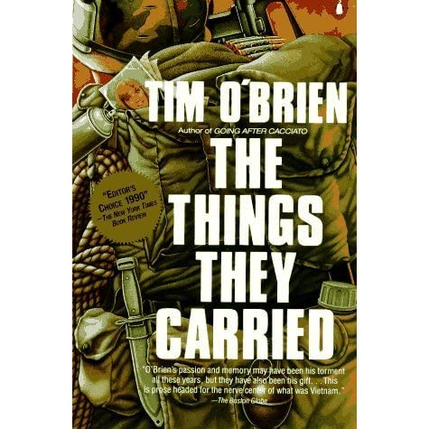 a plot summary of timothy obriens novel the things they carried Tremendous t: the things they carried or plot in the things they carried this provides a brief introduction to tim o'brien and his novel the things they carried.