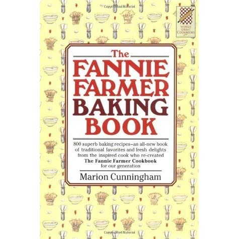 The Fannie Farmer Baking Book (1984),1st Ed,1st P Hard Jacket Marion Cunningham