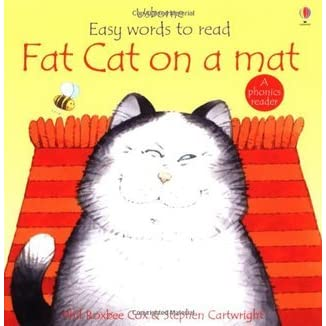Fat Cat On A Mat By Phil Roxbee Cox Reviews Discussion