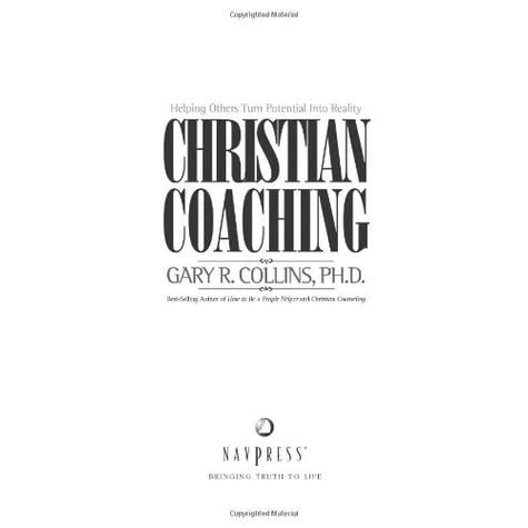 christian counseling by gary r collins Gary r collins is a licensed clinical psychologist with a phd in clinical psychology from purdue university he is the author of more than 170 articles and about 60 books, including christian counseling: a comprehensive guide, the biblical basis of christian counseling, and family shock: keeping.