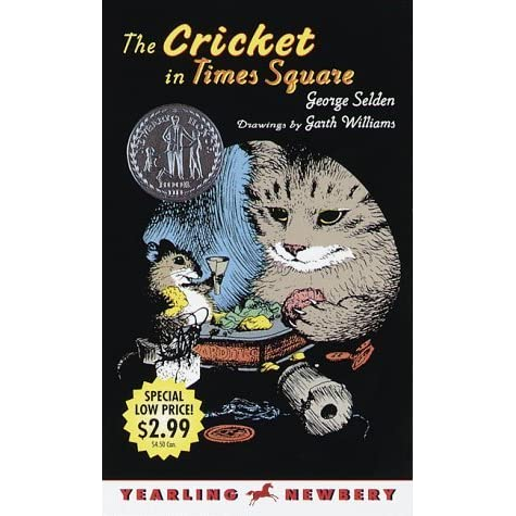 The Cricket in Times Square by George Selden — Reviews, Discussion ...