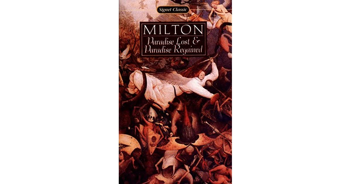 epic essay lost miltons paradise paradise poetry regained John milton's epic poem paradise lost anagrams rearranging the letters of ' john milton's epic poem paradise lost ' (english epic poem about the fall of adam and eve) gives: jolliest sociopath pans prime demon.