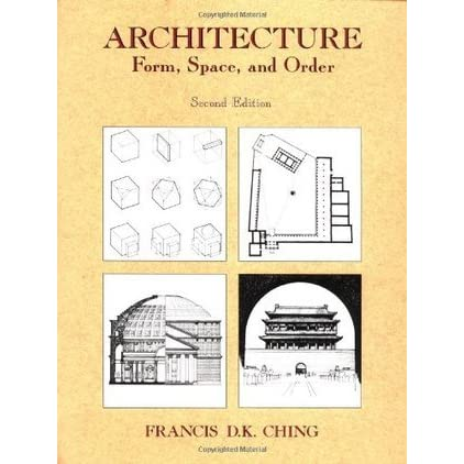 Architecture form space order by francis d k ching for B isdn architecture