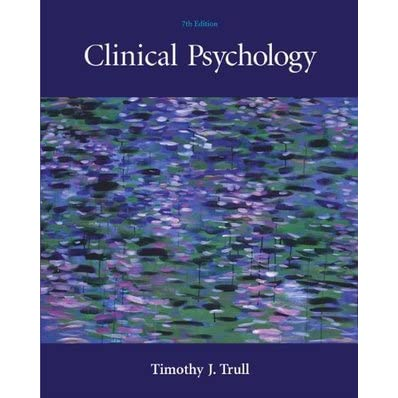 clinical psychology book by trull pdf
