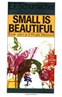 Small Is Beautiful: Economics as if People Mattered