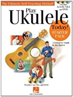 Play Ukulele Today! - Starter Pack (Book CD & DVD)