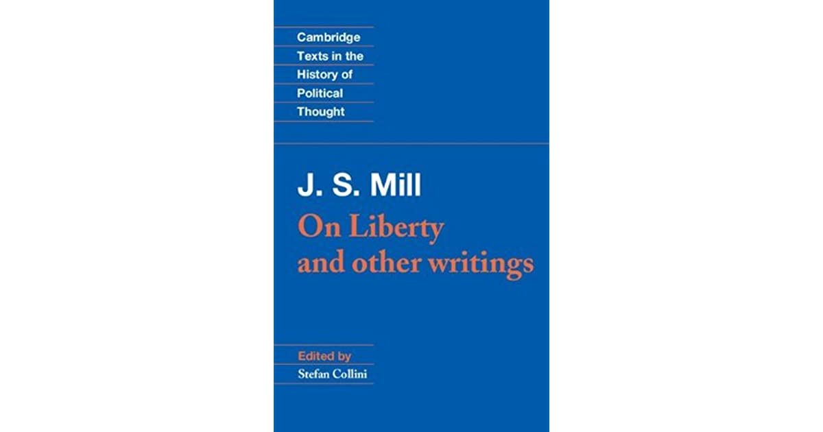 a discussion on j s mill and liberalism John stuart mill and the new liberalism in her john stuart mill and the religion of humanity 9see burke's cogent discussion.