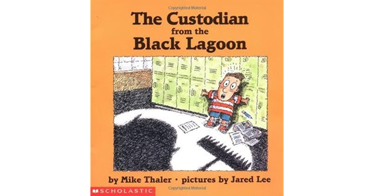 Black Lagoon Book Cover : The custodian from black lagoon by