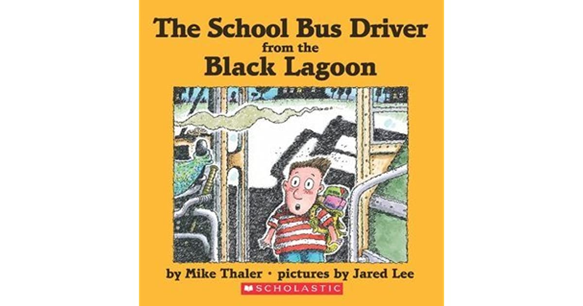 Black Lagoon Book Cover ~ The school bus driver from black lagoon