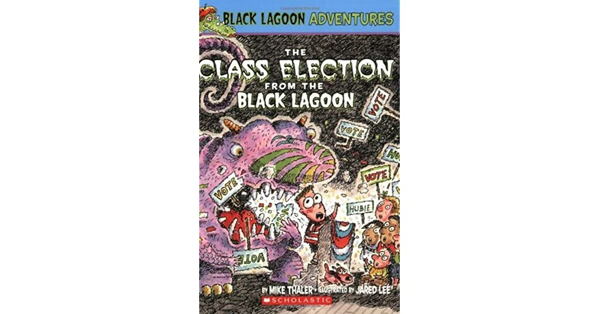 Black Lagoon Book Cover : The class election from black lagoon