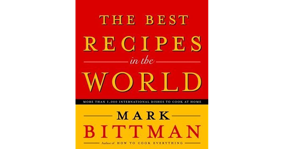 Food Book Cover Reviews ~ The best recipes in world more than
