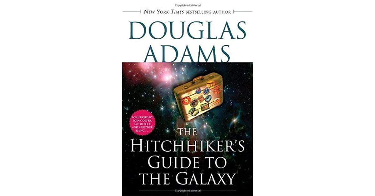Journal on hitchhikers guide to the