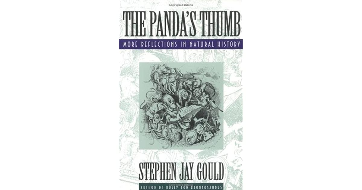 the pandas thumb gould jpg 853x1280