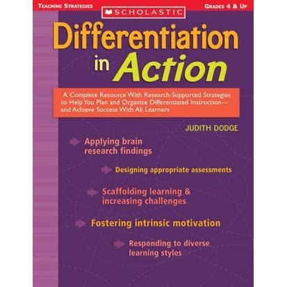 Action Research Paper On Differentiated Instruction