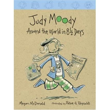 Judy Moody: Around the World in 8 1/2 Days (Judy Moody #7) by ...