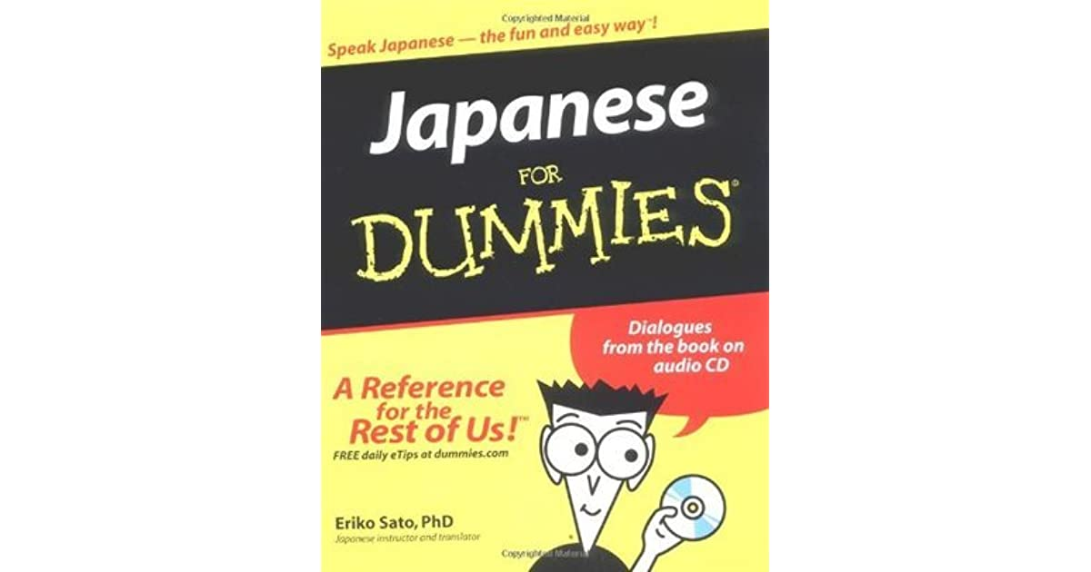 Japanese for dummies by eriko sato reviews discussion