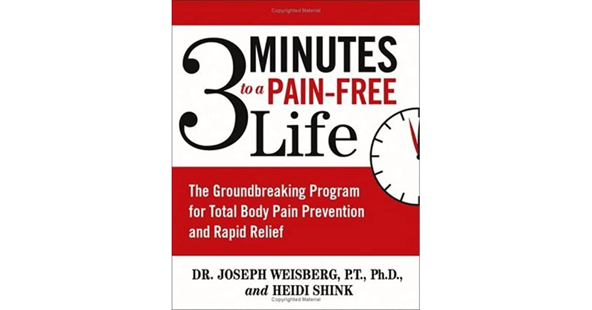 3 minutes to a pain free life reviews
