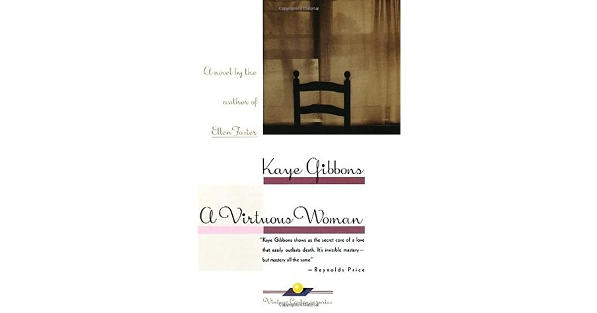 a virtuous woman kaye gibbons pdf