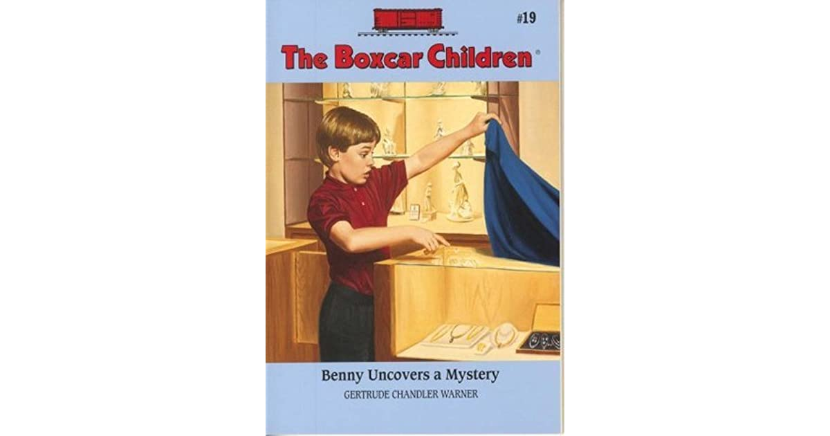 Boxcar Children Book Cover : Benny uncovers a mystery the boxcar children by