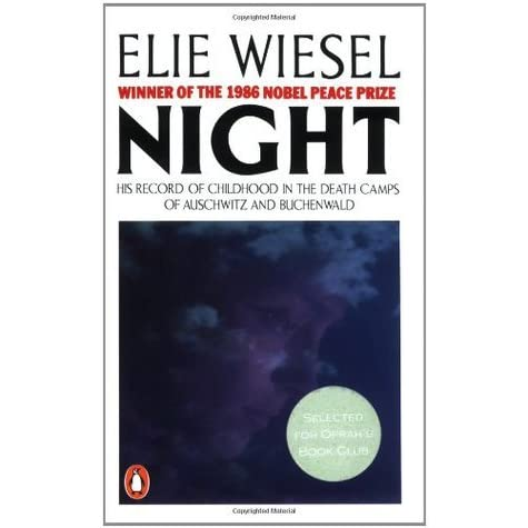 night by elie wiesel affirming mans dignity Military religious freedom foundation hate mail compilation march 2008 february table of contents march 2008 march 2010 are not dated and were culled from past newsletters and weekly watches and.
