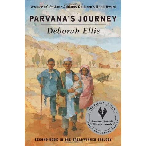 Parvana's Journey (The Breadwinner, #2) by Deborah Ellis — Reviews ...