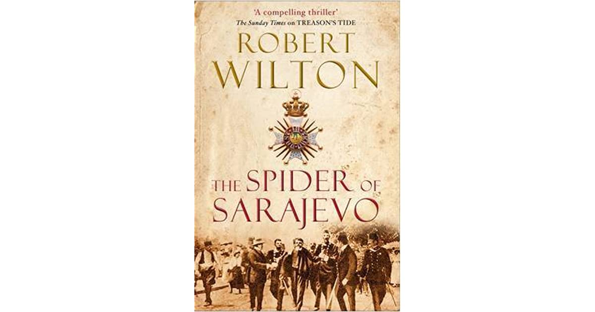 Image result for the spider of sarajevo