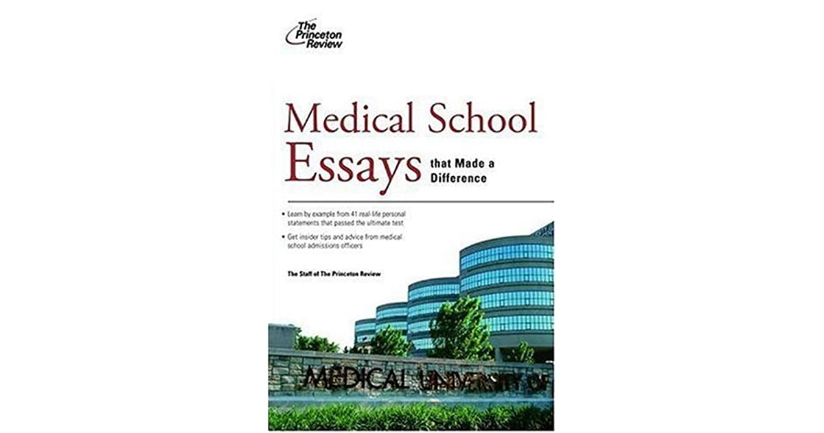 medical school essays that worked A great medical school personal statement is key in the application process if you want to get into the best school, you need to stand out from other applicants us news reports the average medical school acceptance rate at 69% or lower, but our med school clients enjoy an 80% acceptance rate.