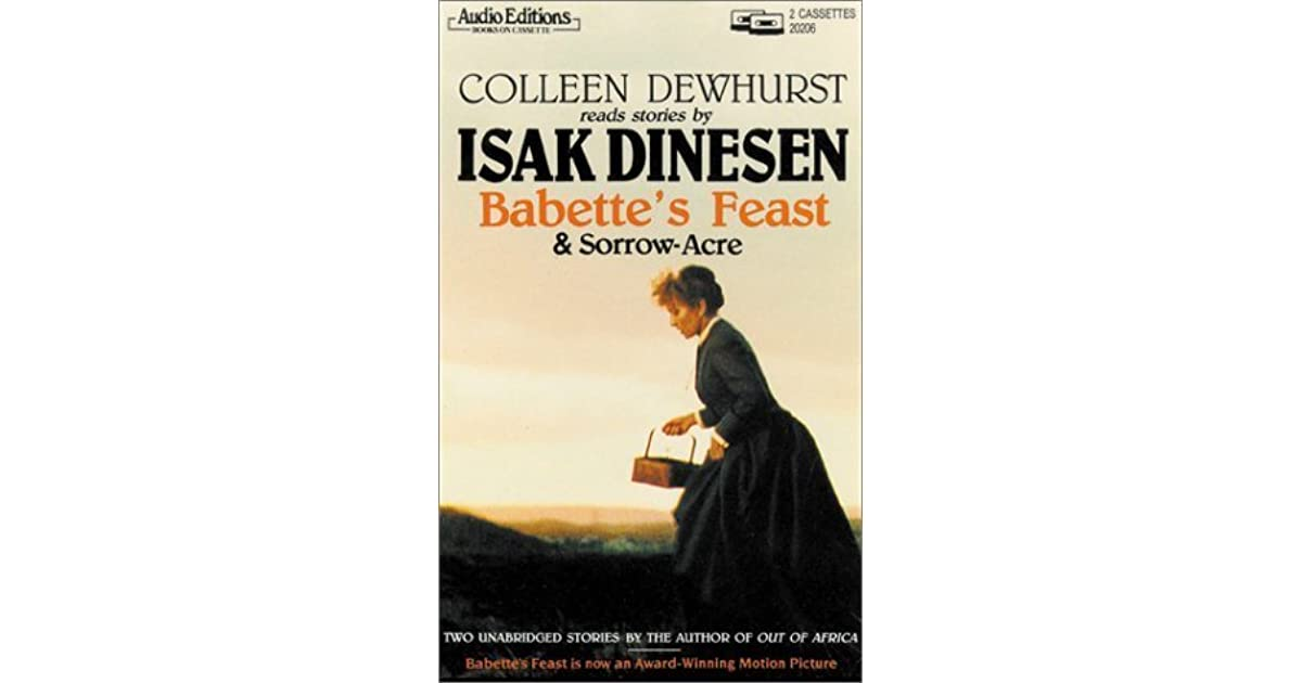 babettes feast and the power of art essay Babette's feast this essay babette's feast and other 64,000  i believe in the in transforming power of art because of my experiences and because  babettes feast.