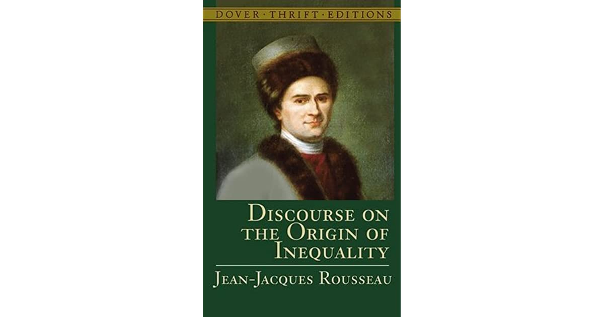 rousseau a discourse on inequality essay